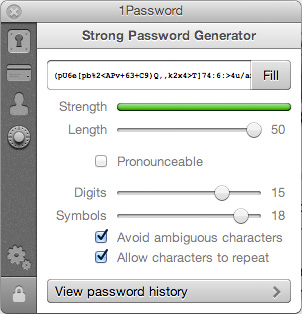 1Password Generator